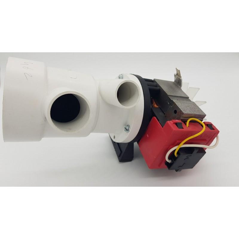 Pompe de vidange IN104820 lave-linge ARISTON, INDESIT, CANDY et 3l MARCHI | Pièces détachées machine à laver Atoupièces